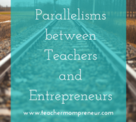 Parallelisms between Teachers and Entrepreneurs